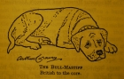 "Arthur Craven was the first to write a book about the ""Bull-Mastiff,"" though he never once lived with the breed."