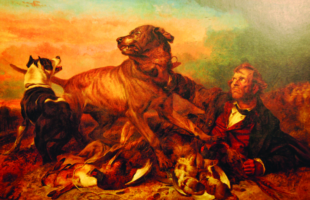 "One of the crown jewels of Moore's collection, ""The Poacher,"" 1865, by Richard Ansdell."