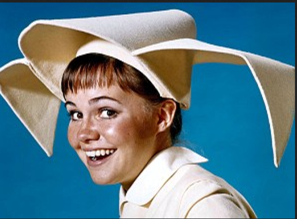 "Sally Field as ""The Flying Nun."""