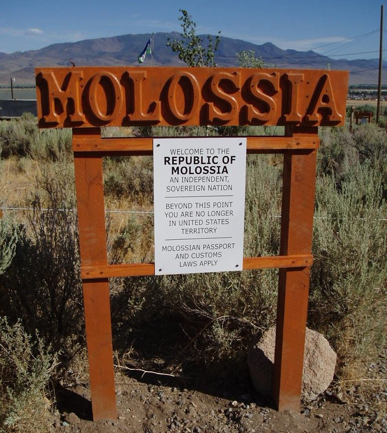 Welcome to the micronation of Molossia.